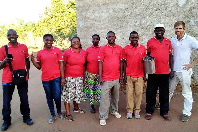 PAMOJA Sales Team Mozambique